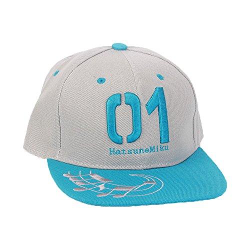 Baseball Cap Hip Hop Snapback Hat Herren Trucker Hat Einstellbar Sports Hat für Erwachsene Kleidung Zubehör (Hatsune Miku Kostüm Kind)