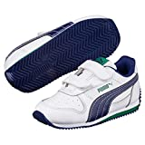 Puma Fieldsprint L V Ps Puma White-Blue Depth 11.5 UK (Kids)