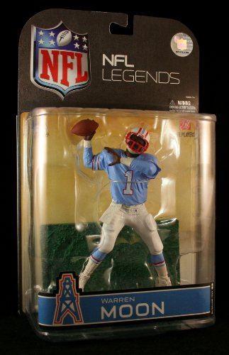 McFarlane Toys NFL Sports Picks Legends Series 4Aktion steht Warren Moon (Houston Oilers) Blue Kartonhülle Variant by Sports Picks (Oilers Warren Moon)
