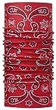 Set - Buff® ORIGINAL + UP® Ultrapower Schlauchtuch | Kopfbekleidung | Schal | Kopftuch | Halstuch | Multituch, Buff Design:Cashmere RED - 100408.00