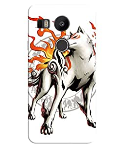 FurnishFantasy 3D Printed Designer Back Case Cover for Google Nexus 5X,LG Google Nexus 5X