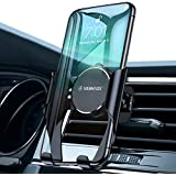VANMASS Mobile Phone Holder for Car Air Vent with Automatic Reminder Function Universal Car Phone Holder for Car Compatible with XS/XR/X/8, Samsung S9/S8/S7/Note 9, Huawei and More