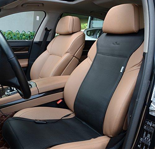 Cuscino Riscaldato 12V Con Regolatore di Temperatura Intelligente (Nero)