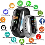 shree krishna M3 Intelligence Bluetooth Smart Watch/Smart Bracelet/Health Band/Activity Tracker/Bracelet/Fitness Band/M3 Band/with Heart