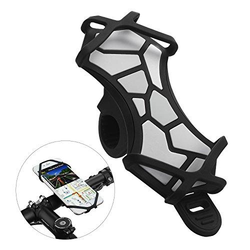 Vogek Fahrrad Handyhalter, Handyhalterung Fahrrad für iPhone X/8/7/6/6s Plus, Samsung Galaxy & Allen Handy mit 4,3-6,0 Zoll Bildschirm, Verstellbarer Handyhalter für Fahrrad Motorrad