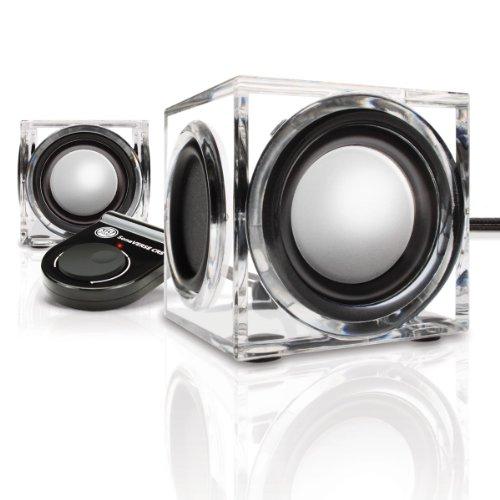 GOgroove Mini 2.0 Lautsprecher: Extra klein mit qualitativ hochwertigem Sound, besonders leicht, ideal für unterwegs als Speaker für Tablets, Laptops, Smartphones oder PC's, USB betrieben -