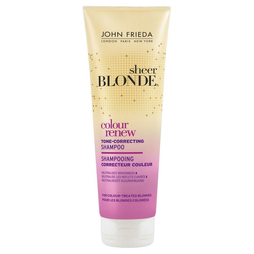 John Frieda Puro Colore Biondo Rinnovare Tono Correggere Shampoo (250ml) (Confezione da 2)