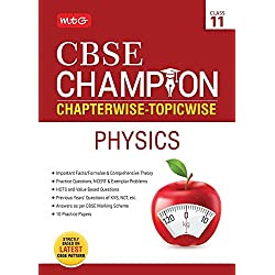 CBSE Champion Chapterwise-Topicwise - Physics Class 11