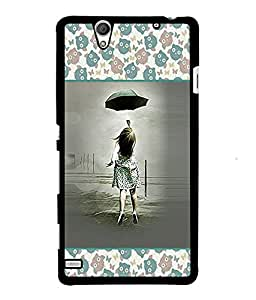 Fuson 2D Printed Girly Designer back case cover for Sony Xperia C4 - D4278