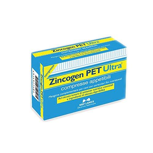 ZINCOGEN PET ULTRA 60 cpr - Migliora le difese immunitarie e ripristina le carenze di zinco di cani e gatti