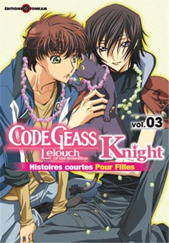 Code Geass - Knight Edition simple Tome 3