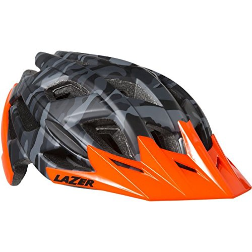 Lazer Ultrax+ Ats Fahrradhelm, Blackcamo Flash Orange, L