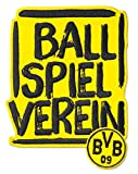 Borussia Dortmund Aufnäher Ballspielverein 10,4x9,6cm