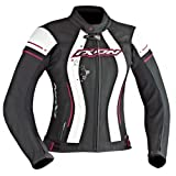 Ixon Blouson Moto Alcyone, Rose/Fuchsia, Taille S