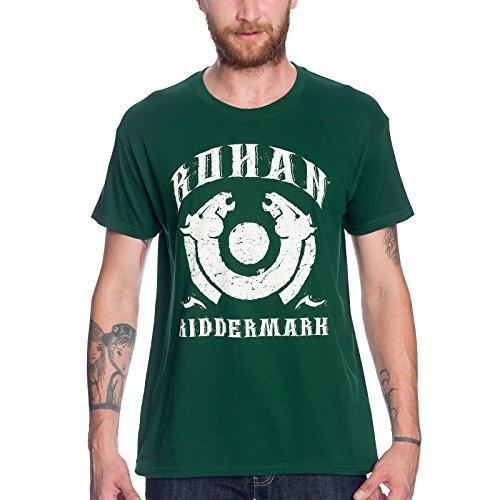 Herr der Ringe T-Shirt Rohan Riddermark von Elbenwald grün - XL