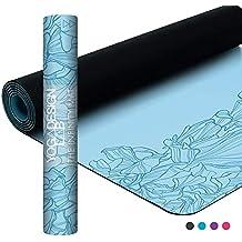 Yoga Design Lab | Esterilla Infinity | Textura y diseño Antideslizante para Alinear y apoyar su