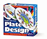 Create Your Own Plate Design - Markers - Girls Boys Kids Children - Arts & Crafts Activity Set - Best Selling Birthday Present Gift Fun Toys & Games Idea Age 3+ - Creative Fingers - amazon.co.uk