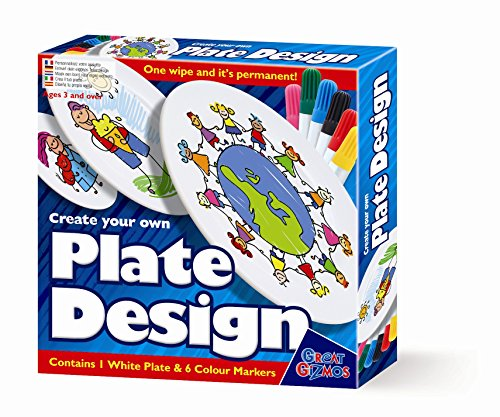 Fun little project - No 1 Selling Girls & Boys Present Idea For Christmas Age 3+ Personalise & Design Your Own Plate