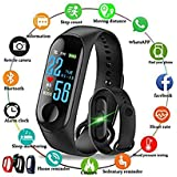 M3 Smart Fitness Band Activity Tracker with Heart Rate Sensor for All Androids/iPhone Device