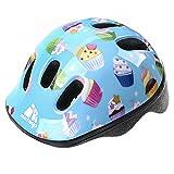 Meteor Casque de vélo MV6–2- Casque enfant et jeunesse:Casque de vélo pour le cyclisme; pour Hoverboard, roller en ligne, BMX, Vélo, trottinette.Conçu pour la sécurité des plus jeunes utilisateurs.Le casque a un circuit de tête réglable en continu, XS muffins