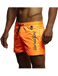 Muße Adidas Bekleidung # C74t30: Herren Orange Adidas Swim