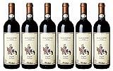 Melini Sangiovese Toscana Rusticello di Boninsegma IGT 2016/2017 trocken Wein (6 x 0.75 l)