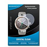 2 x SWIDO® protecteur d'écran Asus Zenwatch 3 WI503Q film protecteur feuille