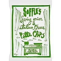 Soffles Los Chips De Pita Primavera Cebolla Y Queso Italiano Bolsa De Cuota De 165G