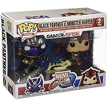 Pop Marvel Capcom Black Panther Vs Monster Hunter Vinyl Figure 2 Pack