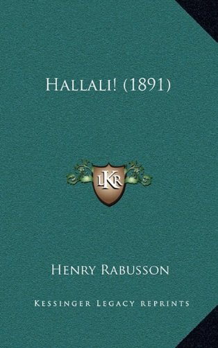 Hallali! (1891)