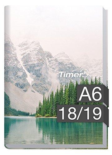 Chäff-Timer mini A6 Kalender 2018/2019 [Mountain Spirit] 18 Monate Juli 2018-Dezember 2019 - Terminkalender mit Wochenplaner - Organizer - Wochenkalender
