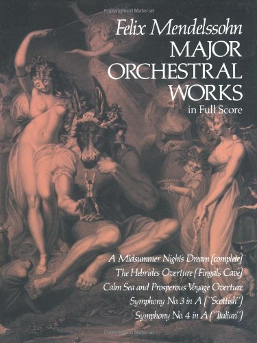 Major Orchestral Works in Full Score (Dover Music Scores)