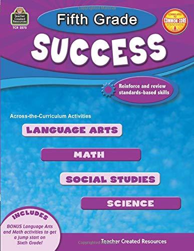 2575 Serie (Fifth Grade Success (Success Series - Teacher Created Resources, Band 2575))