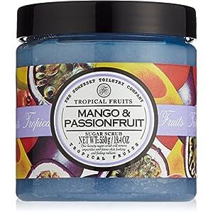 Tropical Fruits Mango & Passionfruit Peeling Sugar Scrub 550g| Exfoliating Scrub | Sugar Scrub | Sugar Body Scrub | Body Exfoliator | Koerperpeeling | Shower Scrub