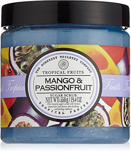 Körper Scrub Peeling (Tropical Fruits Mango and Passionfruit Sugar Scrub 550 g)