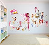 Mia And Me Wall Stickers Kids Bedroom children decor decal MIA-AND-ME-001