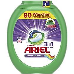 Ariel 3in1 Pods Colorwaschmittel, 80 Waschladungen