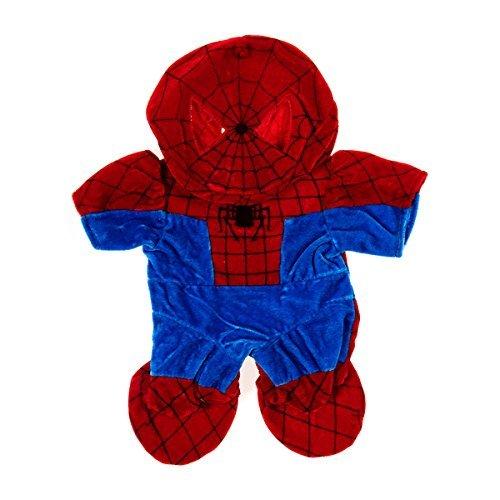 Kostüm Build A Bear - Stuffems Toy Shop Spinnen-Bär-Kostüm Teddybär Kleidung geeignet für die meist 14