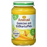 Alnatura Demeter Bio Gemüse mit Süßkartoffel, 6er Pack (6 x 190 g)
