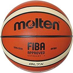 Molten - Pelota para entrenamiento de baloncesto, color Naranja, talla BGR7-OI