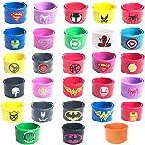 Best Party Favors per i bambini - Hizoop 28 PCS Superhero Slap Bracelet per bambini Review