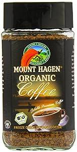 Mount Hagen Fairtrade Instant Freeze Dried Coffee 100g