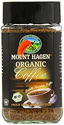 Mount Hagen Fairtrade Instant Freeze Dried Coffee 100g