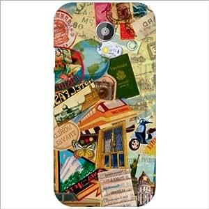 Motorola Moto G (2nd Gen) Back Cover Designer Hard Case Printed Cover
