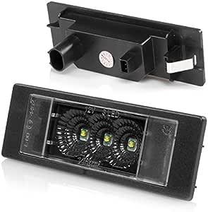 Led Kennzeichenbeleuchtung Canbus Module Mit E Zulassung V 030122 Auto
