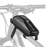 حقيبة ركوب الدراجات الهوائية من فيست نايت مع أنبوب أمامي MTB جراب مقاوم للماء وهيكل صلب EVA للدراجة الأمامية.