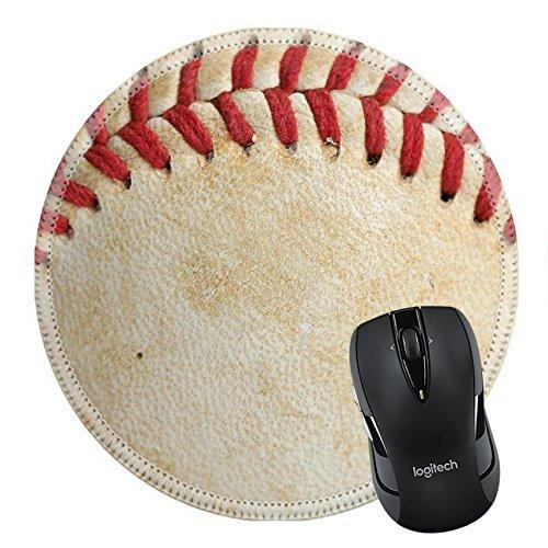 MSD Mousepad rund Maus Pad/Matte 26508030Close Up of a Baseball Themen mit Raum für Copy -