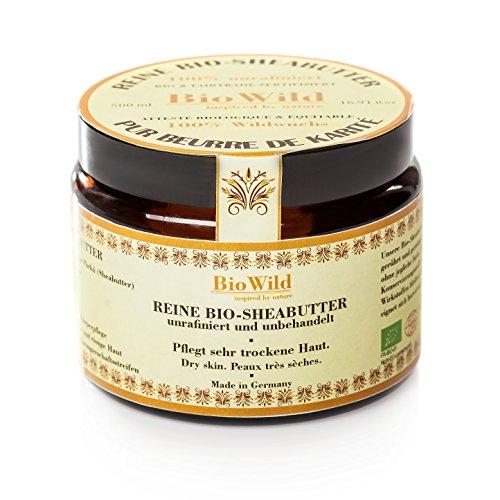 BIO SHEABUTTER-100ML- BIOKARITE BUTTER - 100% UNRAFFINIERT- 100% HANDMADE -100% FREI VON ZUSÄTZE-100ml- GLASTIEGEL- (Reine Bio-shea Butter)