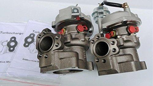 Gowe turbocompressore per turbo K03-016/017Audi A62.7t C5S4Ajk sono Azb Agb V6doppia coppia turbocompressore - V6 K & N Aria