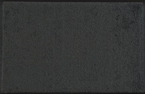 Wash+Dry - Tappeto  Smokey Mount 60x90, Grigio